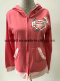 Princess Style Hoody Sportswear for Girl with Glitter Print