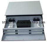 19′′ 1u Fiber Optic Patch Panel Box