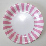 "9"" Party Paper Plate, Round Paper Plates with Different Design"