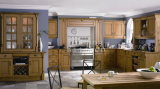 Solid Wood Kitchen Cabinet #142