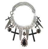 Fashion Big Charm Pendant Necklace (XJW13157)