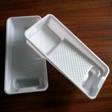 White Pet/PVC Packaging Boxes Tray
