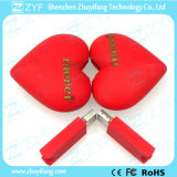 Wedding Valentine′s Day Gift Pretty Heart USB Flash Drive (ZYF1012)