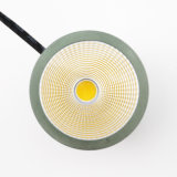 Aluminum 7W COB LED Spot Lamp Bulb (external power supply)