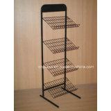 Floor Slanted Metal Mat Display Rack (PHY3001)