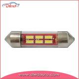 Festoon 36mm C5w F10 4014SMD Tube LED Interior Car Light