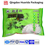 Customize Plastic Frozen Dumplings Food Packaging Bag, Seafood Pouch