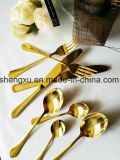 Chinese Design Stainless Steel Rose Gold Dinnerware Cutlery Set Sx-Rg001