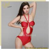 Custom Bikini Swimwear Women Red Hot High Waisted Swimsuits