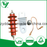 High Voltage ZnO Types  of  Lightning  Arrester with Cap