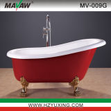 Hot European Style Acrylic Bathtub MV-009G-R