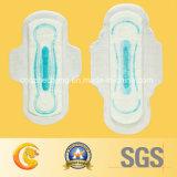 Regular Blue Chip Sanitary Napkins for Turkey Market (OLY-245)