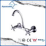 Wall-Mount Single Handle Zinc Kitchen Faucet (AF1201-5C)