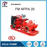 UL FM NFPA20 Horizontal Double Suction Centrifugal Multistage Jockey Diesel Engine Fire Fighting Pump Equipment