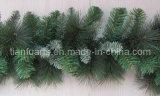 2m PVC Christmas Pine Garland with Pine Needle