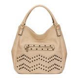 Rhinestone Hobo Leather Woman Bag (MBNO035066)