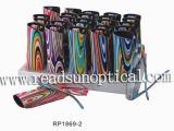 Small Plastic Reading Glasses With Case and Display (RP1869-2)
