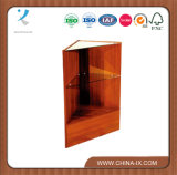 Corner Display Unit with Adjustable Tempered Glass