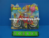 Solid Doll with Bike Set, Children Toys (904601)