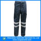 Factory Cheap Cargo Pants Black Cotton Trousers for Men
