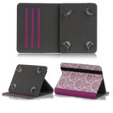 New Arrive Fashion Flower Leather Tablet Case for iPad Case