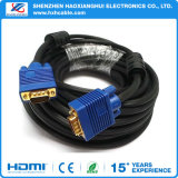 15pin Gold Plated Blue SVGA VGA Adapter Monitor Male Cable Cord for PC HDTV