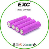 The Latest Low Self-Discharge 2000mAh 3.7V 18650 Battery
