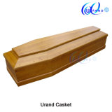 African Mahogany High Gloss No Handle Casket and Coffin