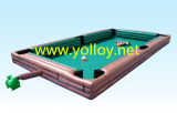 Inflatable Human Billiards Interactive Games for Kids and Adult