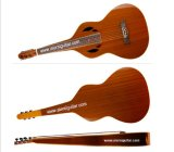 Aiersi Carved Weissenborn Style Hawaiian Slide Guitar