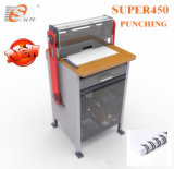 Heavy Duty Electric Punching and Double Wire Binding Machine (SUPER450)