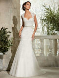 New Fashion Mermaid Wedding Gown Open Back Bridal Dress