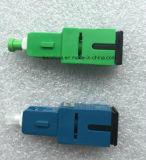 Sc Singlemode Plug-in Type Fiber Optic Plastic Attenuator