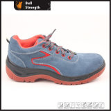 Industrial Leather Safety Shoes with Steel Toecap (Sn5374)
