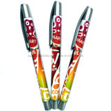 Custom Plastic Ball Point Pen with Full Color Design Printing All Over