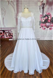 White Color Middle Sleeve Classical Style Wedding Wedding Gown2016