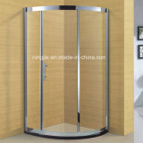 Hotel Bathroom 304 Stainless Steel Frame Shower Cabin (A-8943)