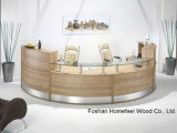 Creative Stylish Office Reception Counter Table (HF-R021)