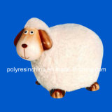 Polyresin Sheep of Cartoon Statue
