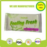 Rolled Single Pack Cotton Wet Tissue Towel Manufacture