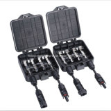 4 Way 3 Diodes Solar Junction Box for PV Module