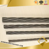 15.2mm Concrete PC Carbon Steel Sring Wire Strand