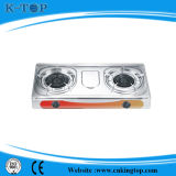 2burner S/S Panel Tank Gas Gas Stove