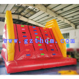 Commercial Rock Inflatable Climbing Walls/Giant Colorful Outdoor Inflatable Climbing Wall