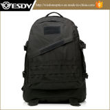 Military Outdoor Hiking Camping 3D Backpack Bag Black