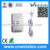 Power Source AC Power Consumption 1.7W Gas Alarm Detector with CE