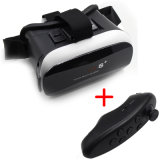 Newest Shaped Vr Box 3D Virtual Reality Glasses with Bluetooth Remote Controller