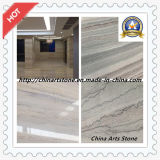 Chinese Wooden Vein Marble Tile for Floor and Wall