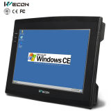 10.2 Inch Wince Ehternet and WiFi Support Industrial Touch Screen with Third-Party Scada