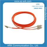 Sc-LC Multimode Duplex Fiber Optic Cable/Patchcord
